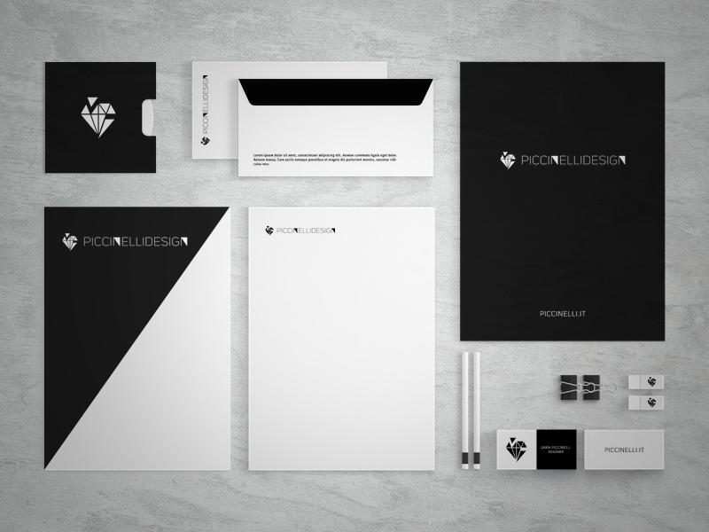 Piccinelli Design - identity (black)