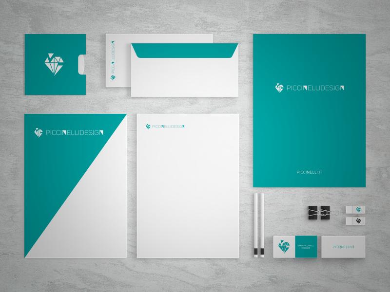 Piccinelli Design - identity (green)